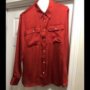 New Ralph Lauren button down blouse